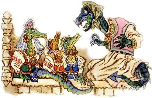 змеихи решают усыпить братьев чтобы их п
