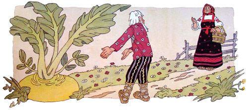 Русская народная сказка Репка детский жу