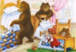 медведи увидели машеньку в кроватке в ск