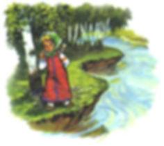 Русская народная сказка Гуси-лебеди детс