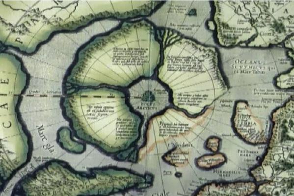 географическая карта земель детский журн