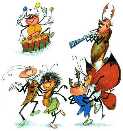Сказка Муха-Цокотуха детский журнал юмор