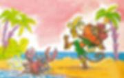 Сказка С. Рунге Обезьяна и Черепаха детс