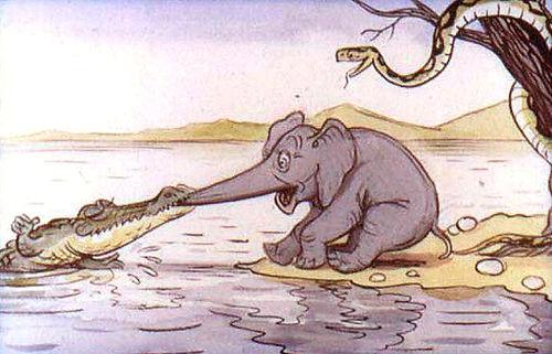 сказка Слонёнок  детский сайт Юморашка р