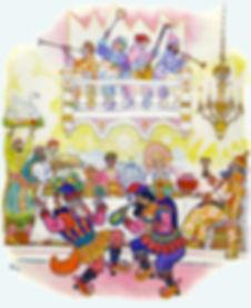 Пир во дворце сказка По щучьему веленью