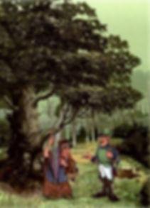 Сказка Огниво детский сайт Юморашка рис