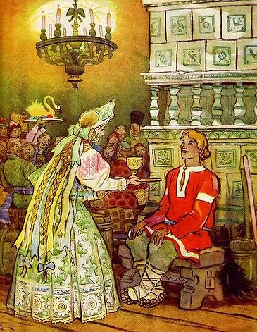 царевна поднесла Ивану кубок сказка.jpg
