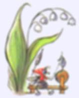 комарик сидит по ландышем сказка в журна