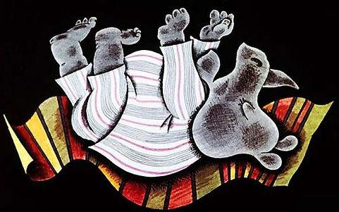 носорог упал с кровати сказка в детском