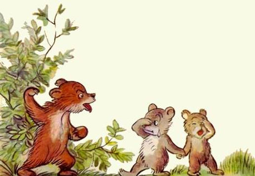 Сказка А.Барто Медвежонок невежа детский