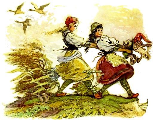 сказка Беляночка и Розочка детский сайт