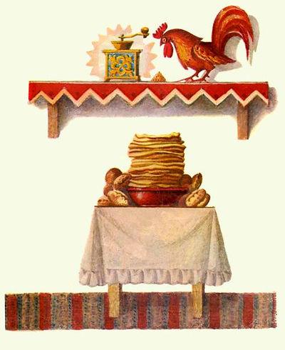 петушок и меленка сказка детский журнал