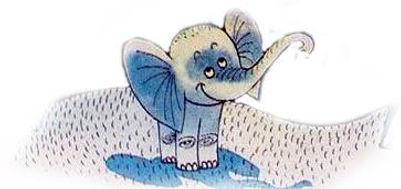 слоненок сказка в детском журнале юмораш