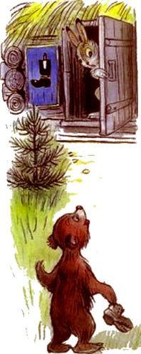 Сказка Зайка — траву поедайка и его семь