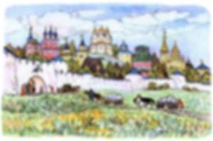 сказка Конёк - горбунок русское село дет