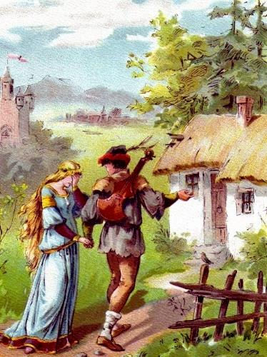 Сказка братьев Гримм Король-Дроздовик  д