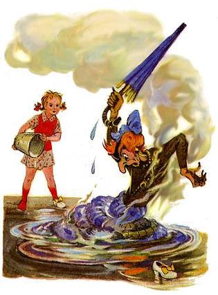 сказка с картинками Волшебник Изумрудног