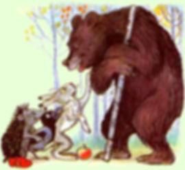 Сказка Яблоко читать Сказки Сутеева с ка