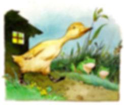 Сказка Г.Х. Андерсена Гадкий утенок Детс