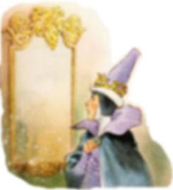 Злая мачеха и её зеркало сказка Белоснеж