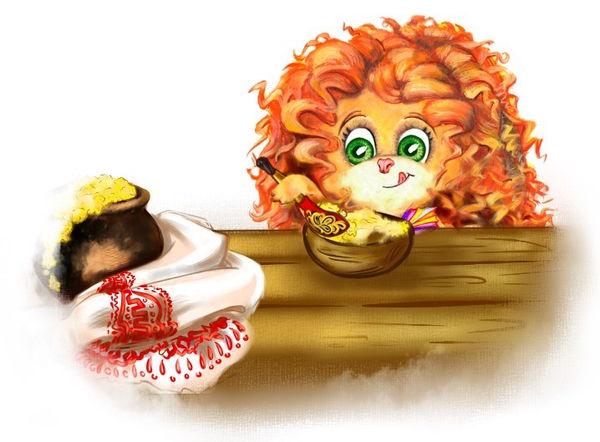 Юморашка ест с удовольствием кашу#Древняя Русь#детский жунал Юморашка#читать детям#сказки