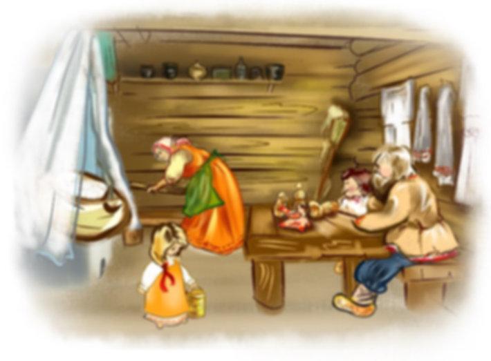 в избе#Древняя Русь#детский сайт Юморашка#читать онлайн