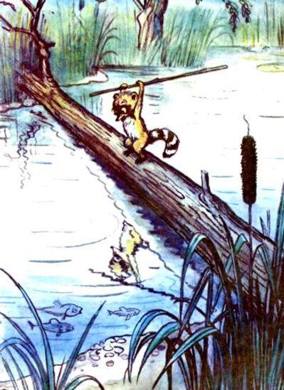 Сказка Крошка Енот и тот кто сидит в пру
