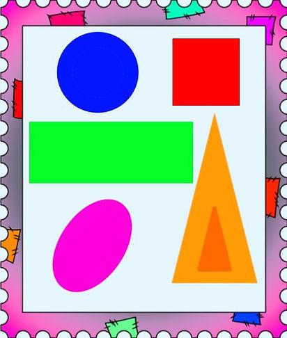 геометрические фигуры#весёлый счёт
