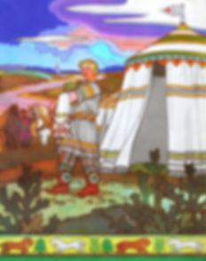 алеша попович на сафат реке былина детск