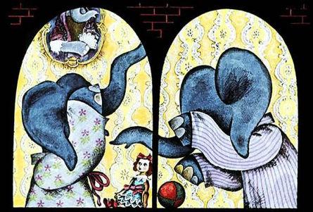 слонята просыпались ночью сказка в детск