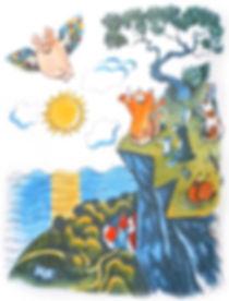 Поросёнок учится летать сказка детский с