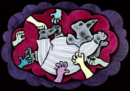 носорогу снится сон сказка про носорога