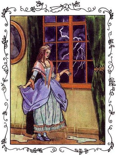 Сказка Принцесса на горошине детский сай