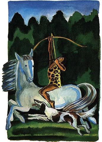 девушка на лошади с луком в руках.jpg