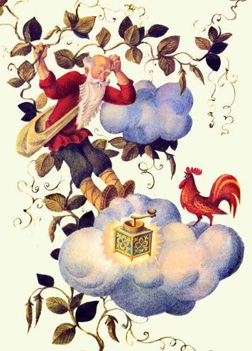 дед с петушком и меленкой сказка детский