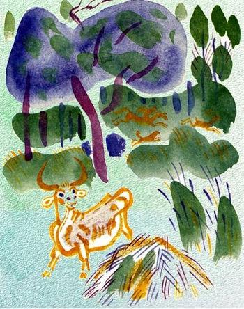 Сказка Кошка которая гуляла сама по себе