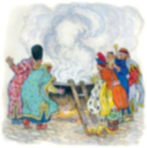 сказка Ершова П.П. Конёк - горбунок рис