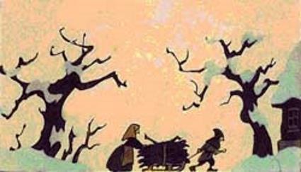 Сказка с картинками Братьев Гримм Госпож