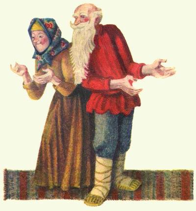 бабка с дедом сказка детский журнал Юмор
