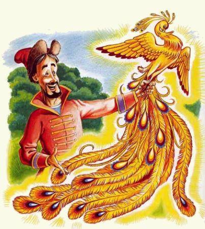 сказка Жар-птица и Василиса-царевна детс