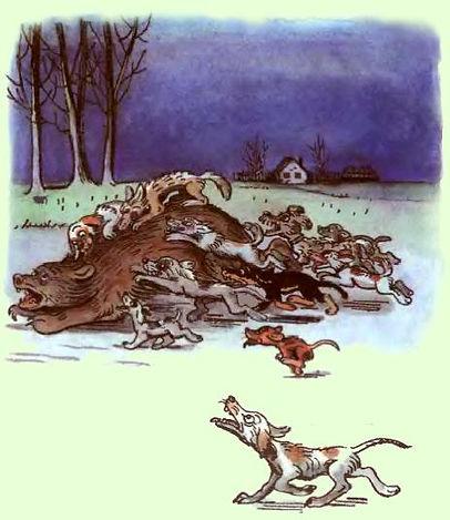 Сказка Дядя Миша читать Сказки  Сутеева