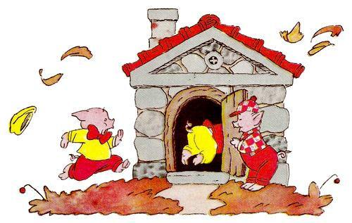 сказка три поросёнка михалков детский жу