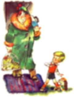 Карлон вернулся сказка детский сайт Юмор