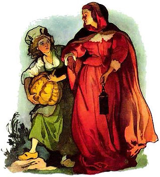 волшебница просит золушку принести тыкву