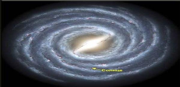 Компьютерная модель нашей Галактики.jpg