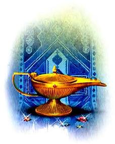 волшебная лампа аладдина детский журнал