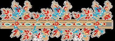 орнамент на баннере в сказке колобок