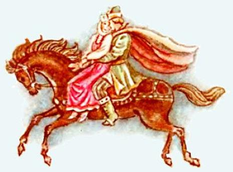 царевна лягушка сказка 15 царевич везет
