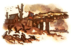 братья и иван ночуют в погорелой деревне