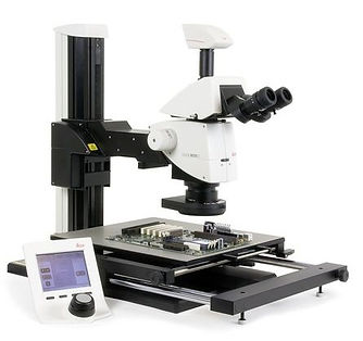 Leica XL Stand Modular stand allows inspection of large samples at high stereoscopic magnifications